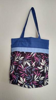 Nákupné tašky - Nákupná taška - modranka - 13095298_