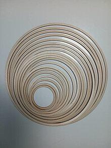 Dekorácie - Drevený kruh na výrobu lapača snov - 13095878_