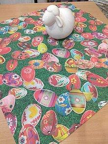 Úžitkový textil - Obrus vajíčka na tráve - 13096525_