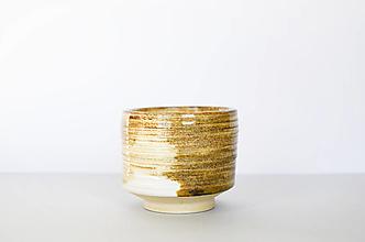 Nádoby - pieskový chawan |čajivá miska| - 13097120_