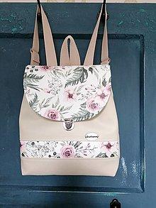Batohy - batoh šípová ružička - 13097453_