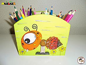 Detské doplnky - Stojan - na ceruzky - 13097021_