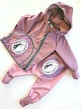 "Detské oblečenie - Softshellka ""unicorn"" - 13095538_"