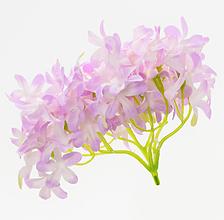 Iný materiál - umelý kvet-hlavička hortenzia 12cm - 13096977_
