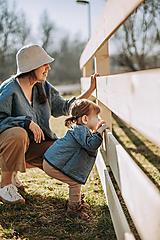 Detské oblečenie - Kabátik Nomad mini - Modrý - 13095278_