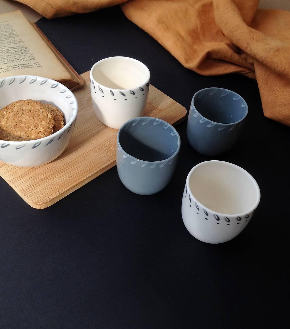 Nádoby - Set Espresso šálky, espresso hrnček  - 13097355_