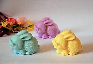 Dobrý obchod - Mydlo Veľkonočný zajačik s vôňou jarnej kytice - 13095953_