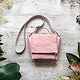 Kabelky - Kabelka SWEET BAG - pastelovo ružová - 13101205_