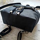 Batohy - Ruksak CANDY backpack - matná čierna - 13101289_