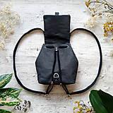 Batohy - Ruksak CANDY backpack - matná čierna - 13101291_