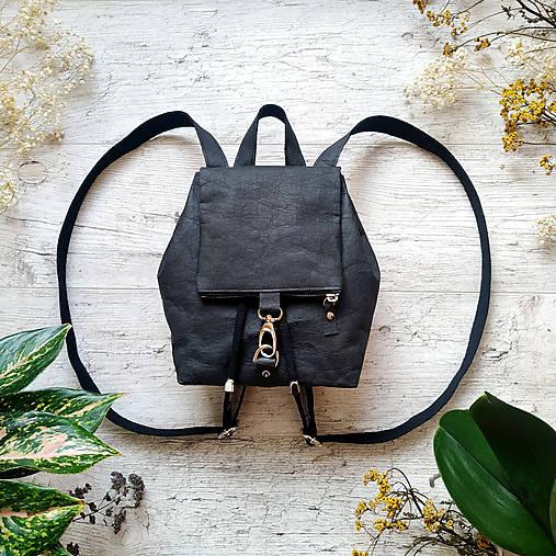 Ruksak CANDY backpack - matná čierna