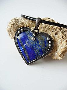 """Náhrdelníky - Cínový šperk """"Keď máš v srdci nebo plné hviezd"""" - 13100165_"""