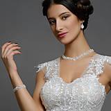 Sady šperkov - súprava Swarovski - floral - 13099011_
