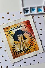 Kresby - Inkognito - originál maľba - 13102227_