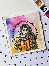 Kresby - Spev jari - originál maľba - 13102272_