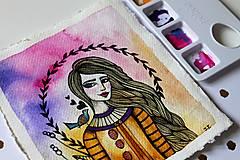 Kresby - Spev jari - originál maľba - 13102273_