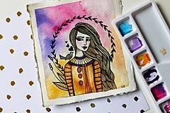 Kresby - Spev jari - originál maľba - 13102275_