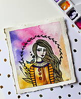 Kresby - Spev jari - originál maľba - 13102284_