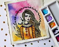 Kresby - Spev jari - originál maľba - 13102294_