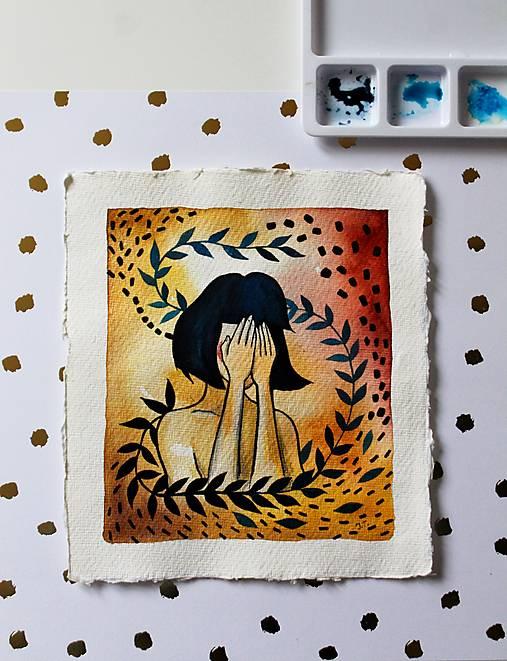Inkognito - originál maľba