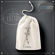 Úžitkový textil - Vrecko LiLu - zakvitnutý konár - 13101507_