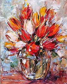 Obrazy - Tulipány ´21 - 13100611_