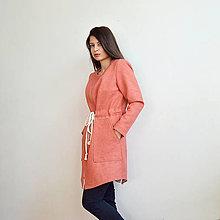 Kabáty - Jarná ružová bunda - 13101726_