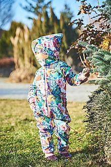 Detské oblečenie - Softschell overal - 13098890_