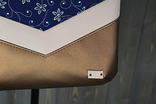 modrotlačová kabelka Michaela 1