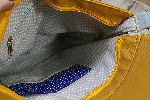 modrotlačová kabelka Michaela 2