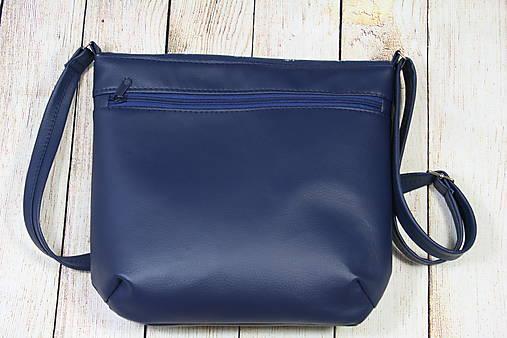 modrotlačová kabelka Michaela 3