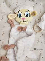 Hračky - Mojkáčik ovečka Berta - 13100088_