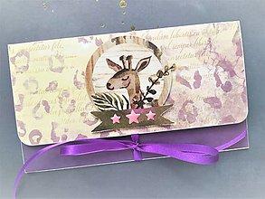 Papiernictvo - Obálka na peniaze - 13105723_