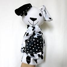 Hračky - Maňuška psík dalmatín - od Hviezdičkového pelieška - 13107960_