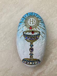 Dekorácie - Pamätný kameň - Kalich - 13104346_