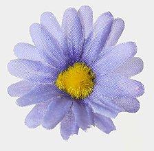 Iný materiál - umelý kvet-hlavička 4cm / 10ks (Modrá) - 13105583_