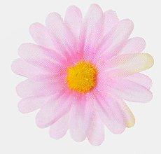 Iný materiál - umelý kvet-hlavička 4cm / 10ks (Ružová) - 13105587_
