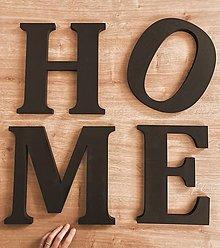 Dekorácie - drevené Písmenko - 13107351_