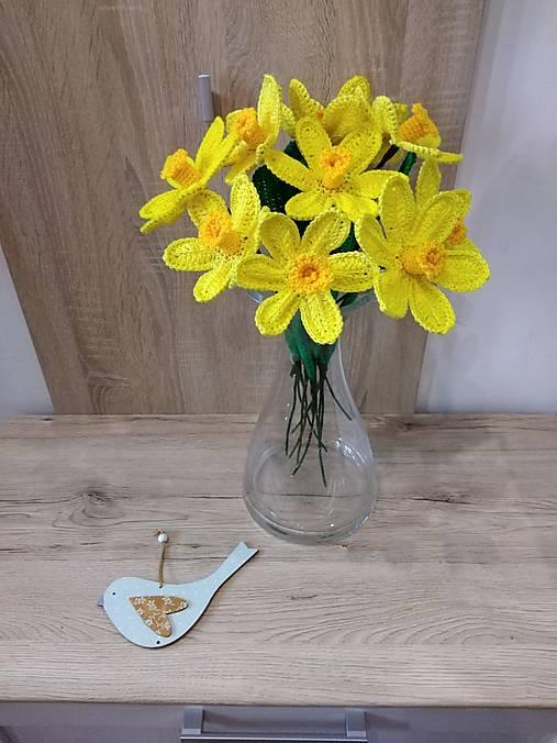 Dekorácie - Narcisy  - 13104047_