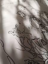 Kresby - Antistresová Relaxačná Omaľovánka Pre Dospelých - Digitálny Súbor / Pdf / Jarná Víla / Zvončeky / Zajace - 13107941_