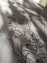 Kresby - Antistresová Relaxačná Omaľovánka Pre Dospelých - Digitálny Súbor / Pdf / Jarná Víla / Zvončeky / Zajace - 13107952_