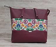Veľké tašky - Taška Folk II - 13107751_