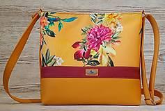 Kabelky - Crossbody kabelka 25 Flower Yellow - 13107845_