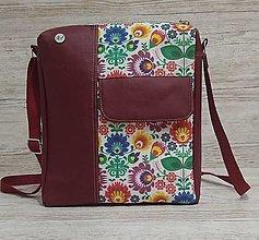 Iné tašky - Crossbody taška Uni Folk II - 13107704_