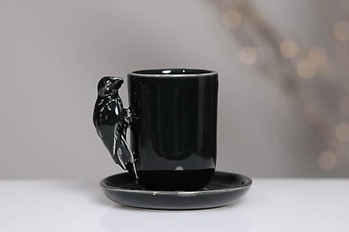 Nádoby - vtáčiková (Čierna) - 13104142_