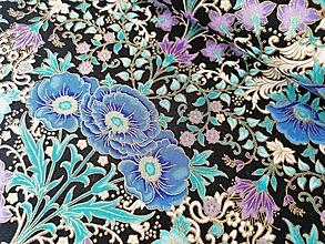 Textil - Bavlnená látka Florentine Garden Jewel - 13111344_