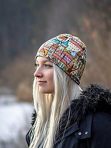 Čiapky - Milujeme Slovensko (farebné) antibakteriálna čiapka, nákrčník alebo set - 13112078_