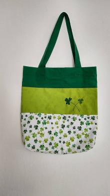 Nákupné tašky - Nákupná taška - šťastíčko - 13111132_