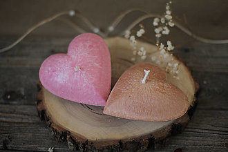 Svietidlá a sviečky - Srdiečko ♥ - 13108944_
