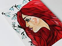 Kresby - Jarné sľuby - 13109612_